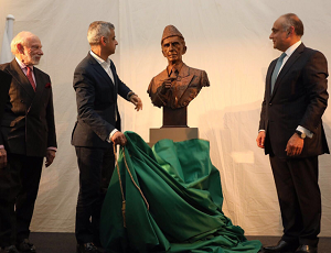 Quaid-e-Azam's bust unveiled at British Museum to mark 70th Independence of Pakistan.