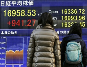 Asian stocks rally as Japan surges almost 6%