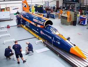 Bloodhound supersonic car record bid slips again