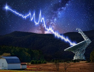 Bizarre 'fast radio bursts' detected from outer space.