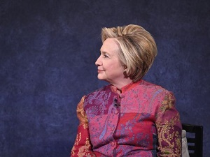 Hillary Clinton says she is afraid of losing her country