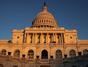 US government shutdown: House backs funding bill and sends it to Senate.