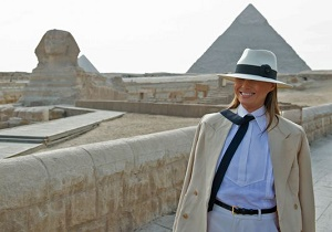 First lady Melania Trump in Africa: \'Focus on what I do, not what I wear\'