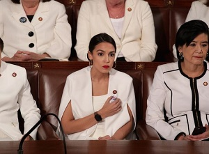 Alexandria Ocasio-Cortez responds to tweet: Why should I be \'spirited and warm\' at State of the Union?