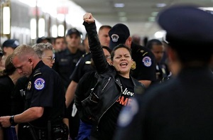 128 arrests later, #WeBelieveChristine, #CancelKavanaugh protests set for Thursday