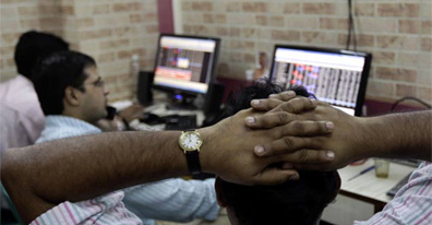 Sensex falls for 5th staright week; closes below 19,000-level
